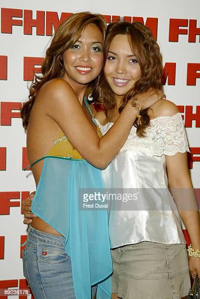 Myleene Klass and her sister Jessie