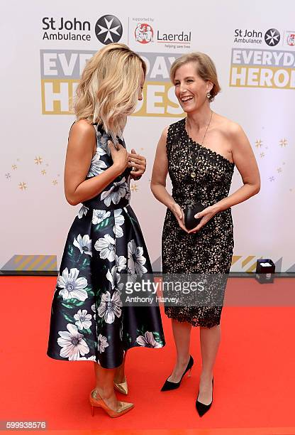 Myleene Klass and Sophie Countess of Wessex attend the St John Ambulance's Everyday Heroes awards a starstudded celebration of the nation's life...