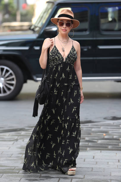GBR: London Celebrity Sightings - August 11, 2020