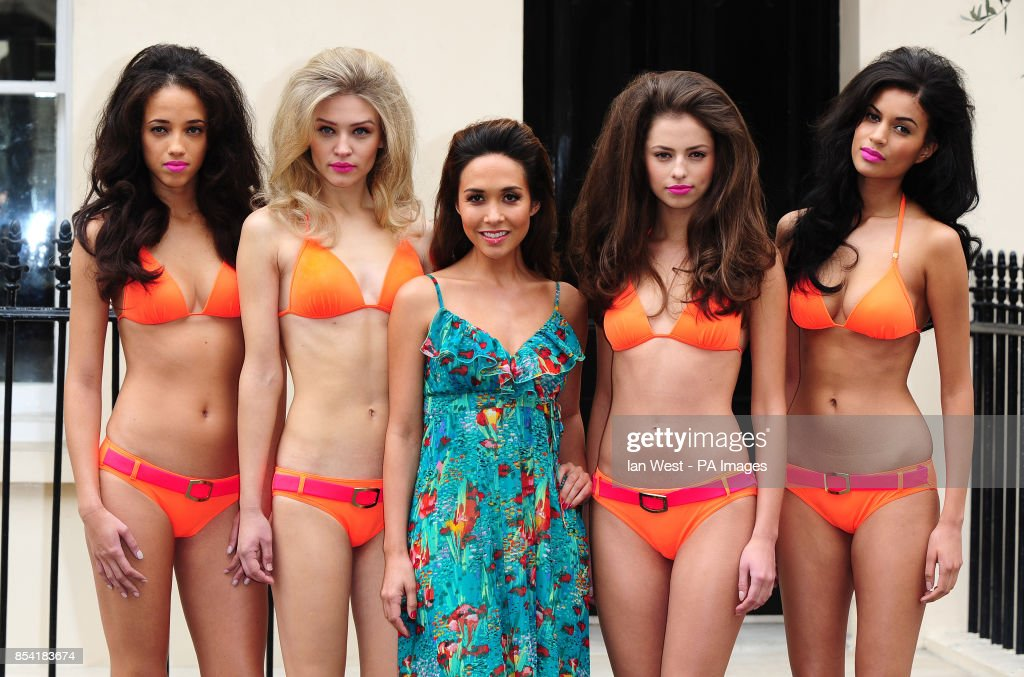 3abef15f84 Myleene Klass at the launch of her first swimwear collection for ...
