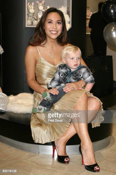 Myleene Klass at the launch of her range of baby clothes for Mothercare called 'Baby K' on September 26 2008 in London England