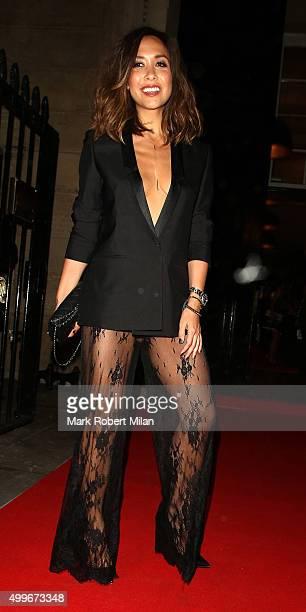 Myleene Klass attending the Cosmopolitan awards on December 2 2015 in London England