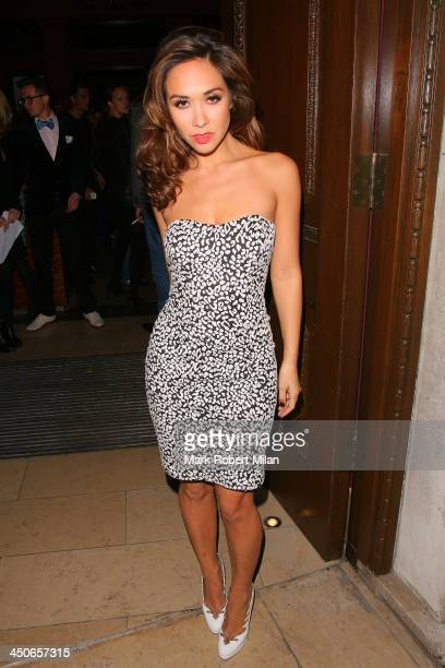 Myleene Klass attending the Steam and Rye launch party on November 19 2013 in London England