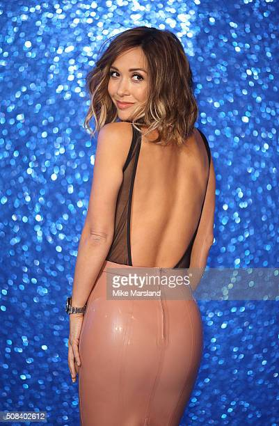 Myleene Klass attends a London Fan Screening of the Paramount Pictures film Zoolander No 2 at Empire Leicester Square on February 4 2016 in London...