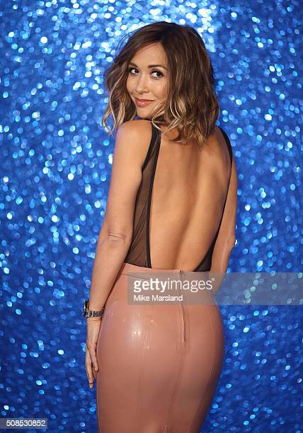"Myleene Klass attends a London Fan Screening of the Paramount Pictures film ""Zoolander No. 2"" at Empire Leicester Square on February 4, 2016 in..."