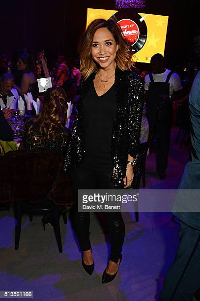 Myleene Klass attends 'A Night Of Motown' for Save The Children UK at The Roundhouse on March 3 2016 in London England