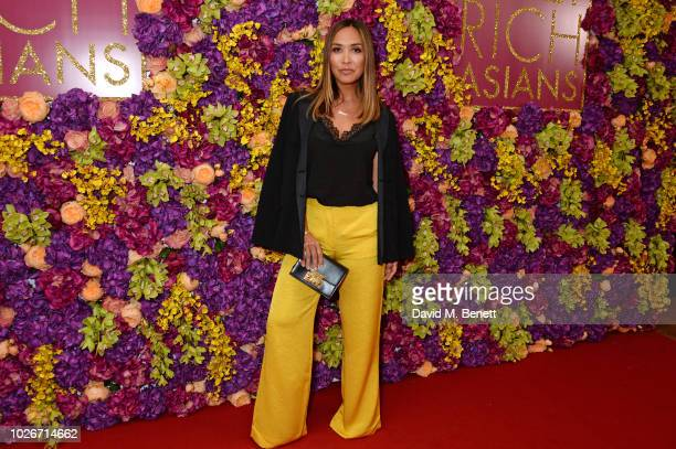 Myleene Klass attends a special screening of Crazy Rich Asians at The Ham Yard Hotel on September 4 2018 in London England