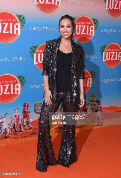 "Myleene Klass attends Cirque du Soleil's ""LUZIA"" at The Royal Albert Hall on January 15, 2020 in London, England."