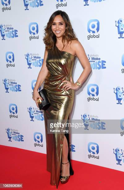 Myleene Klass attends Global Radio's Make Some Noise Night at Finsbury Square Marquee on November 20, 2018 in London, England.