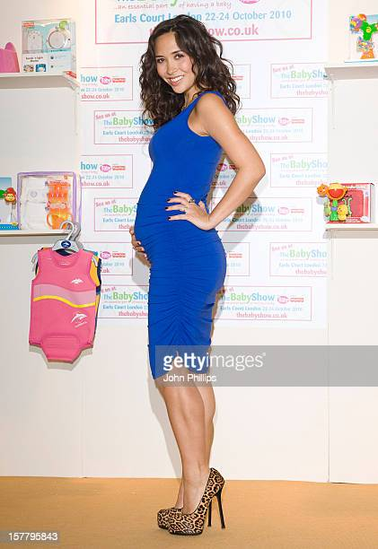 Myleene Klass Attends Photocall To Mark The Launch Of The Baby Show Where Myleene Will Be Promoting Her Baby K Range For Mothercare At The Baby Show...