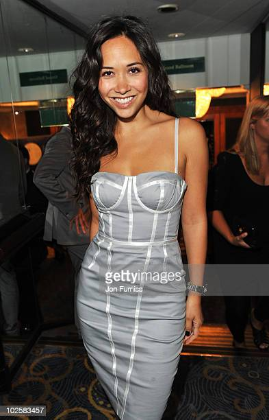 Myleene Klass attends the 35th Nordoff Robbins 02 Silver Clef Awards at London Hilton on July 2 2010 in London England
