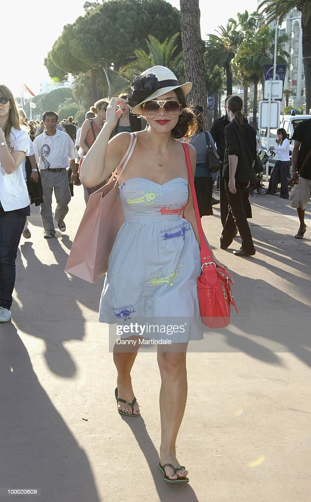 Myleene Klass attends the 63rd Cannes Film Festival on May 20, 2010 in Cannes, France.