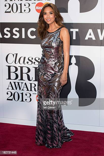 Myleene Klass attends the Classic BRIT Awards 2013 at the Royal Albert Hall on October 2 2013 in London England
