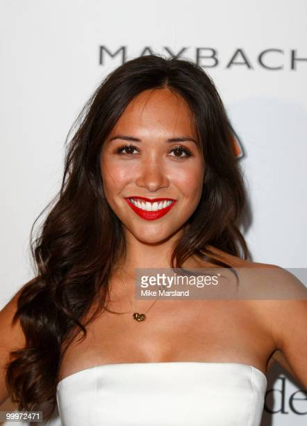 Myleene Klass attends the de Grisogono party at the Hotel Du Cap on May 18 2010 in Cap D'Antibes France
