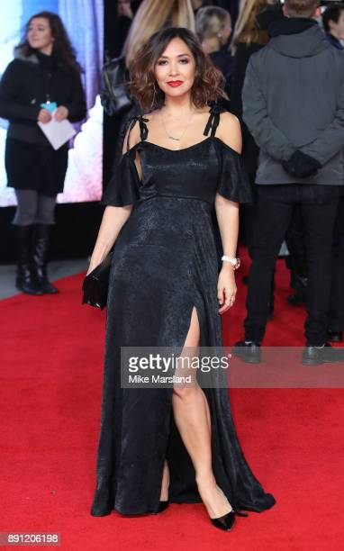 Myleene Klass attends the European Premiere of 'Star Wars The Last Jedi' at Royal Albert Hall on December 12 2017 in London England