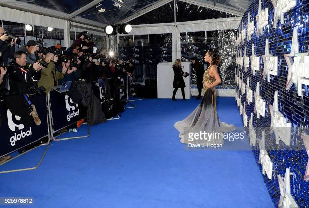 Myleene Klass attends The Global Awards 2018 at Eventim Apollo Hammersmith on March 1 2018 in London England