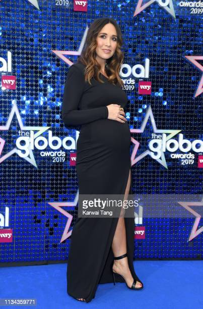 Myleene Klass attends The Global Awards 2019 at Eventim Apollo Hammersmith on March 07 2019 in London England