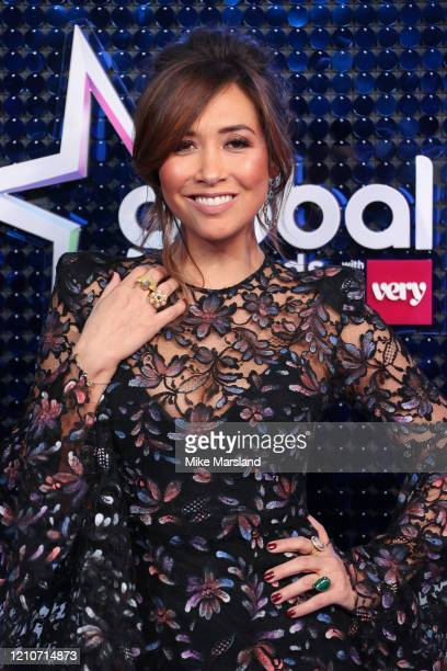 Myleene Klass attends The Global Awards 2020 at Eventim Apollo Hammersmith on March 05 2020 in London England