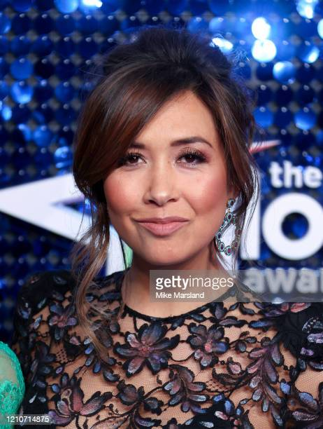 Myleene Klass attends The Global Awards 2020 at Eventim Apollo, Hammersmith on March 05, 2020 in London, England.
