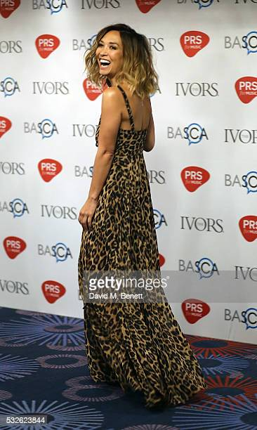 Myleene Klass attends the Ivor Novello Awards 2016 at The Grosvenor House Hotel on May 19 2016 in London England