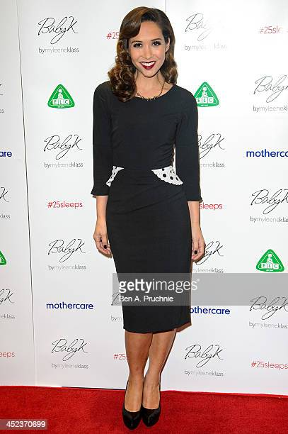 Myleene Klass attends the Mothercare VIP Christmas party at the newly refurbished Oxford Street Store at Mothercare Oxford Street on November 28 2013...