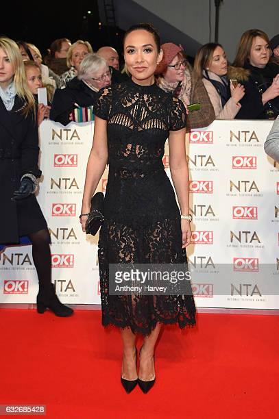 Myleene Klass attends the National Television Awards on January 25 2017 in London United Kingdom