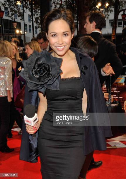 Myleene Klass attends the Opening Gala for The Times BFI London Film Festival which Premiere's 'Fantastic Mr Fox' at the Odeon Leicester Square on...