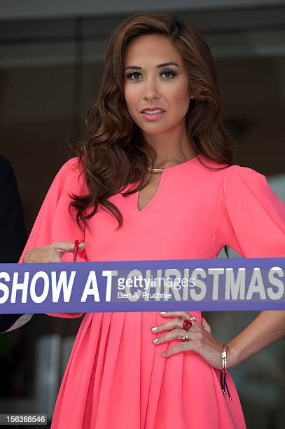 Myleene Klass attends the opening of the Ideal Home Show at Christmas at Earls Court on November 14 2012 in London England