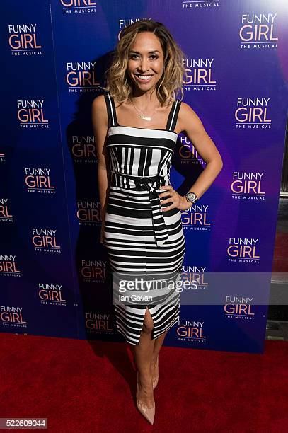 Myleene Klass attends the press night of 'Funny Girl' at The Savoy Theatre on April 20 2016 in London England