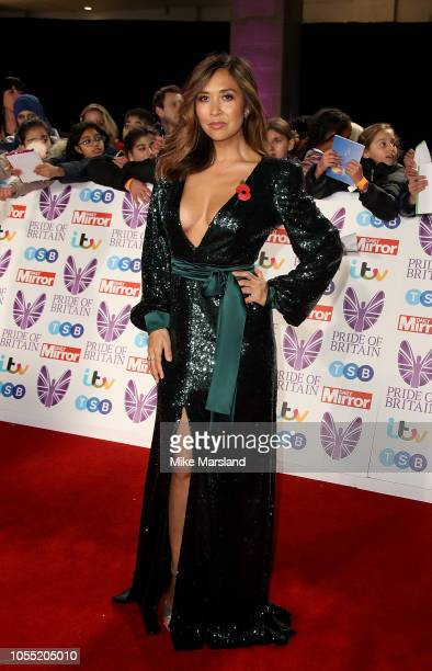Myleene Klass attends the Pride of Britain Awards 2018 at The Grosvenor House Hotel on October 29 2018 in London England