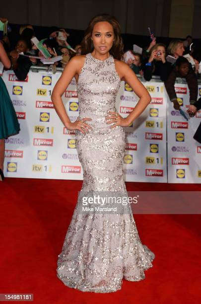 Myleene Klass attends the Pride Of Britain awards at Grosvenor House on October 29 2012 in London England