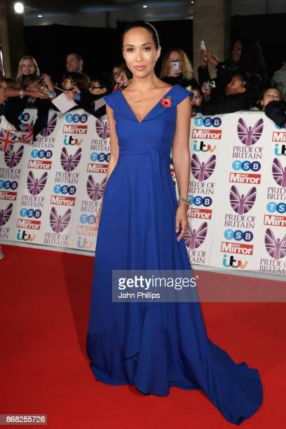 Myleene Klass attends the Pride Of Britain Awards at Grosvenor House on October 30 2017 in London England