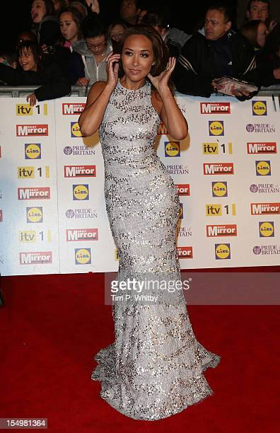 Myleene Klass attends the Pride Of Britain awards at the Grosvenor House Hotel on October 29 2012 in London England