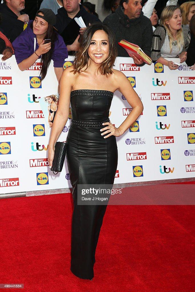 Myleene Klass attends the Pride of Britain awards at The Grosvenor House Hotel on September 28, 2015 in London, England.