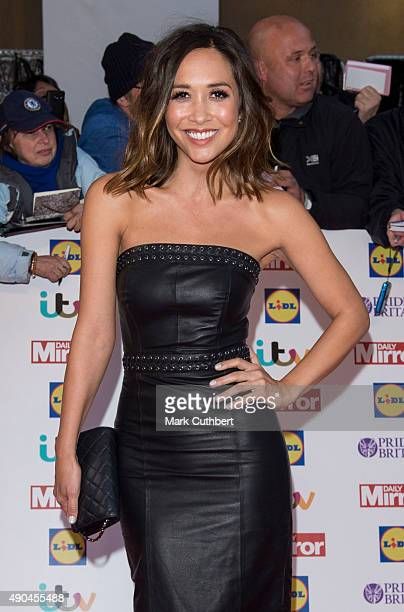 Myleene Klass attends the Pride of Britain awards at The Grosvenor House Hotel on September 28 2015 in London England