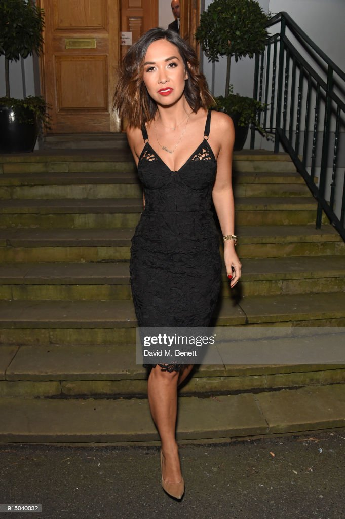 Myleene Klass attends the Steinway & Sons Sunburst Launch Event at Abbey Road Studios on February 6, 2018 in London, England.