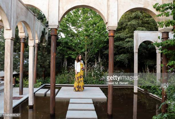 Myleene Klass attends the Wedgwood 260th Anniversary Party during the Chelsea Flower Show at The Royal Hospital Chelsea on May 21, 2019 in London,...