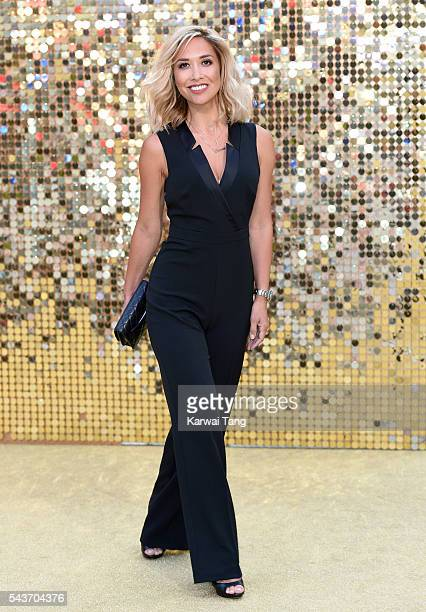 Myleene Klass attends the World Premiere of 'Absolutely Fabulous The Movie' at Odeon Leicester Square on June 29 2016 in London England