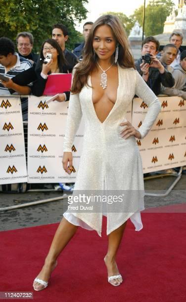 Myleene Klass during 2004 MOBO Awards Arrivals at Royal Albert Hall in London in London United Kingdom