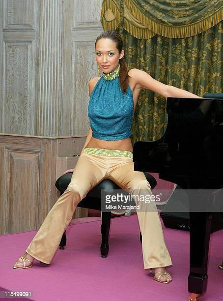 Myleene Klass during Ex Hear'say Member Mylene Klass Launches Her New Album Moving On at Harrods Department Store Knightsbridge in London Great...
