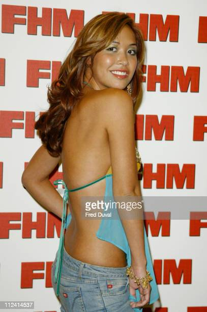 Myleene Klass during FHM Top 100 Sexiest Women 2004 at Guild Hall in London Great Britain