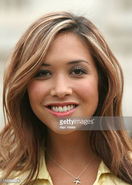 Myleene Klass during Music On Fire Launch Party Photocall at Horse Guards Parade in London Great Britain