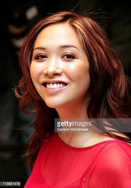 Myleene Klass during Myleene Klass Marks and Spencer Photocall April 5 2007 at Marble Arch in London Great Britain