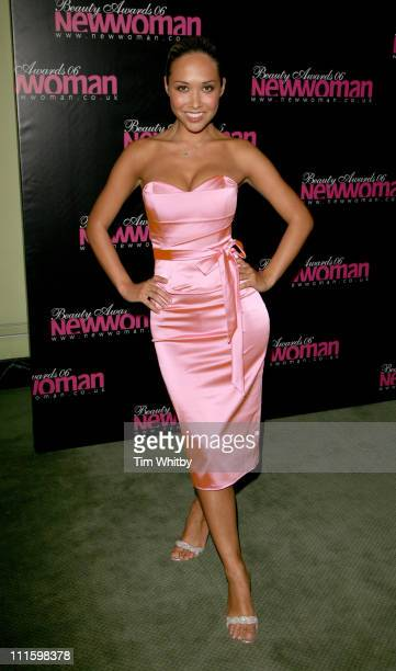 Myleene Klass during New Woman 2006 Beauty Awards April 11 2006 at Dorchester Hotel in London Great Britain