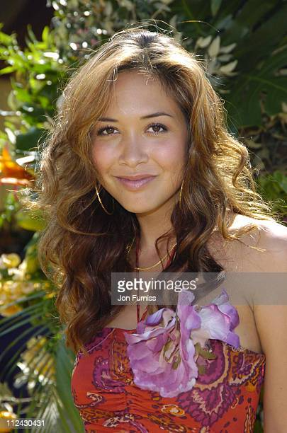 Myleene Klass during The Veuve Clicquot Gold Cup Polo Final July 17 2005 at Cowdray Park in West Sussex Great Britain