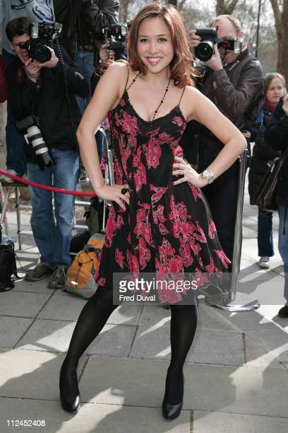 Myleene Klass during TRIC Awards 2007 - Outside Arrivals at Grosvenor House in London, Great Britain.