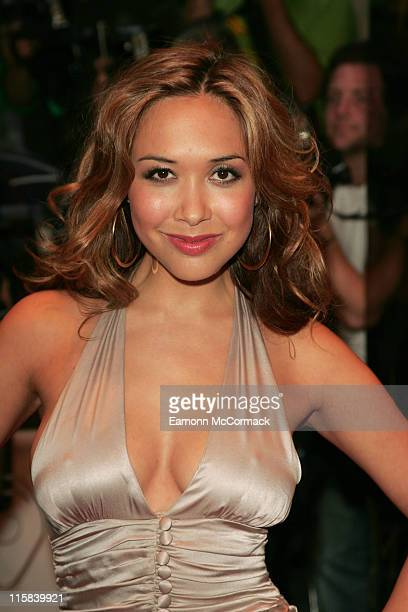 Myleene Klass during TV Quick and TV Choice Awards Outside Arrivals at The Dorchester in London Great Britain