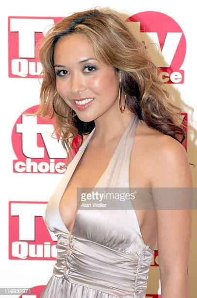 Myleene Klass during TV Quick Awards TV Choice Awards Inside Arrivals at The Dorchester in London Great Britain