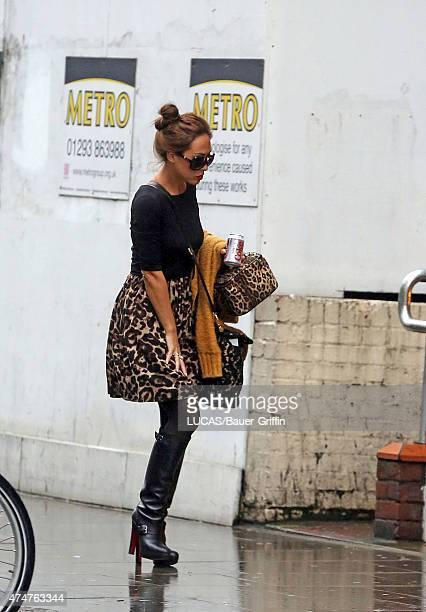 Myleene Klass is seen on November 12 2012 in London United Kingdom