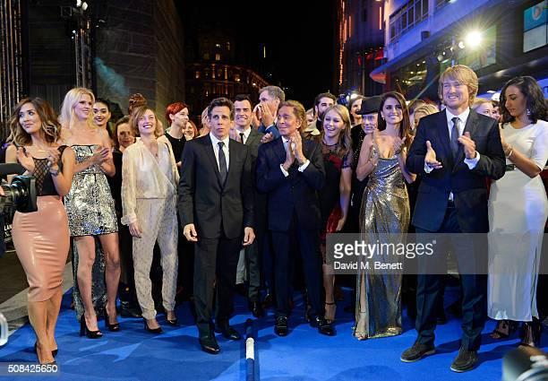 Myleene Klass Lara Stone Camilla Rutherford Ben Stiller Justin Theroux Will Ferrell Valentino Garavani Matt Johnson Christine Taylor Penelope Cruz...